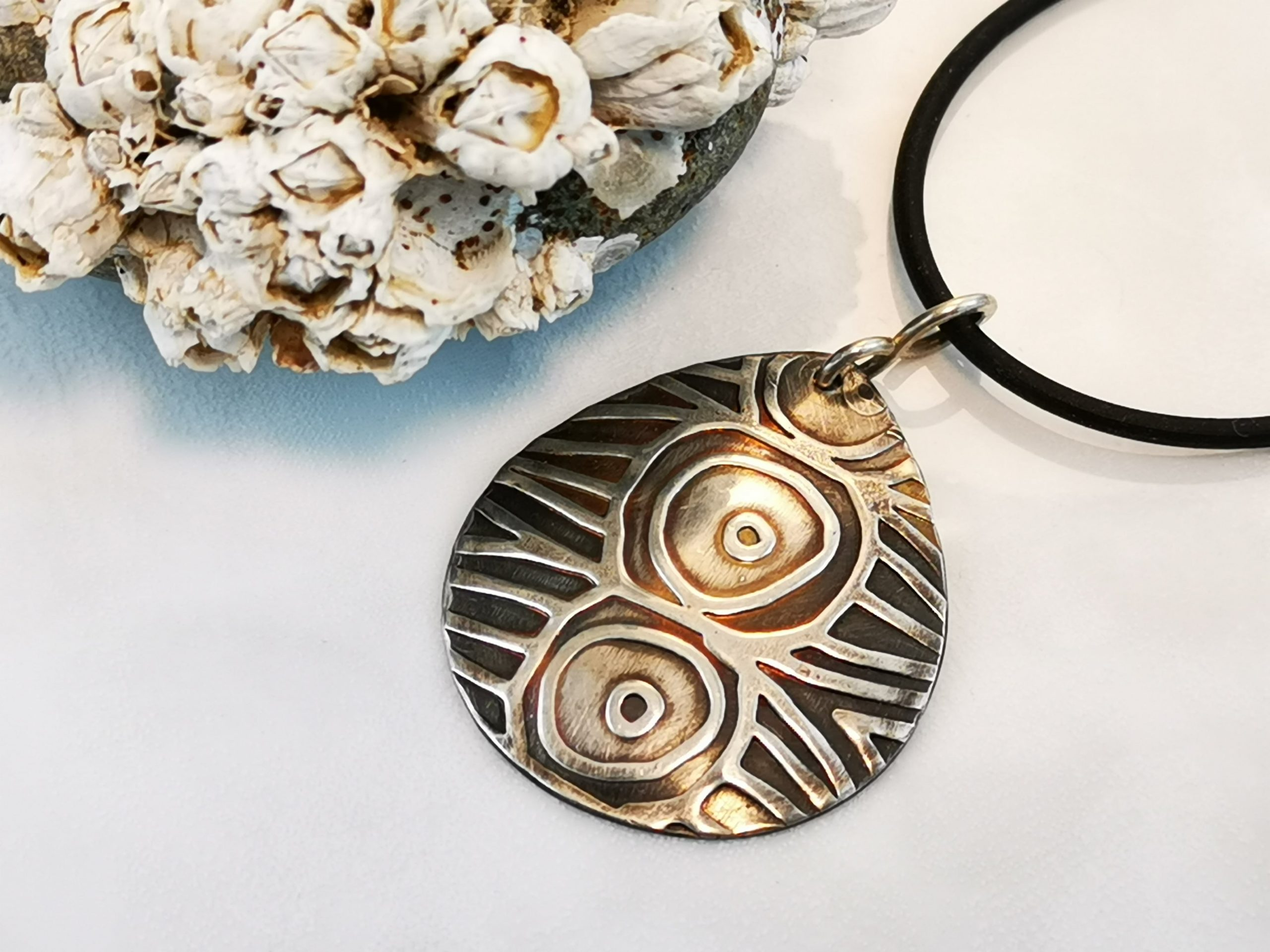 Sterling Silver Circle Pendant
